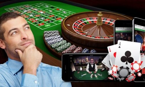 What are online gambling and its types?